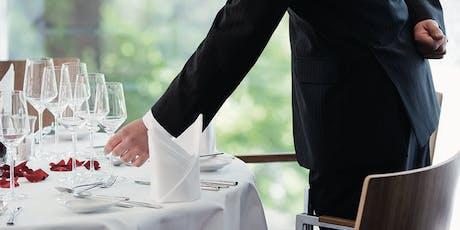 Spaß mit Knigge – Knigge Kurs im Restaurant Tickets