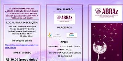 IV Simpósio Maranhense sobre a Doença de Alzheimer
