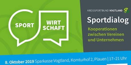 Sportdialog - Sport und Wirtschaft Tickets