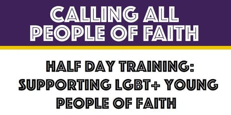 Rochdale: Supporting LGBT+ Young People of Faith (Half Day Training) tickets