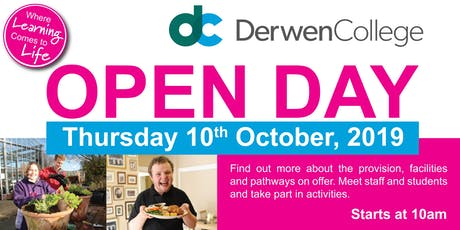 Derwen College Open Day tickets