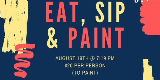 Eat, Sip & Paint (At Artful Gourmet Bistro)