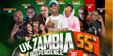 UK Zambia 55th Independence Celebrations  tickets