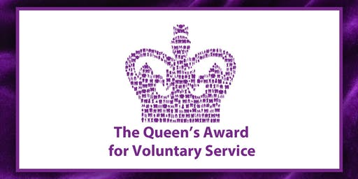 Queens Award for Voluntary Service Presentation