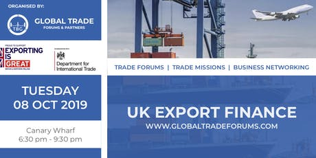 UK Export Finance tickets