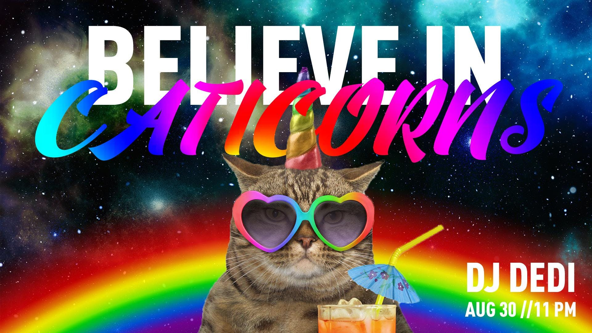 Believe in Caticorns - The Yellow Bar