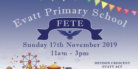 Evatt Primary School Fete tickets