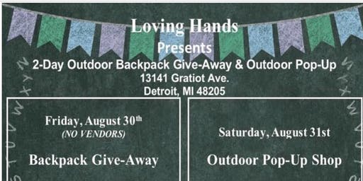 Loving Hands BackPack giveaway