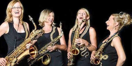Pavelló de Música: Sistergold, quartet de saxofon entradas