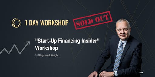 """Start-Up Insider Shares How to Get Funding"" Workshop with Stephen J. Wright"