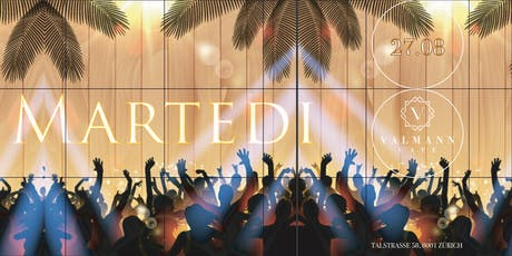 MARTEDI Summer End Party at VALMANN tickets