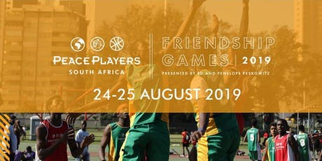 PeacePlayers South Africa Friendship Games tickets