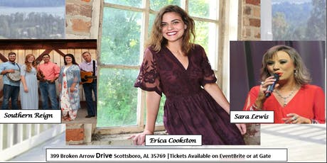 Erica Cookston with Special Guests Southern Reign and Sara Lewis tickets