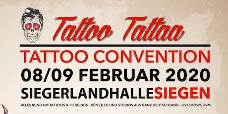 "Tattoo Convention Siegen ""TattooTattaa"" Tickets"