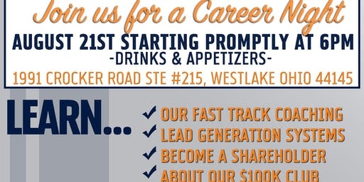 Real Estate Career Night August 2019