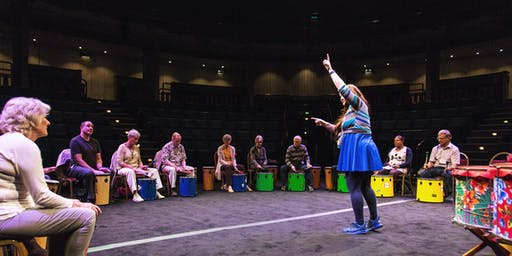Brazilian Beats! Seated Carnival Percussion workshop with Art Brasil