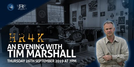 An Evening with Tim Marshall at HR4K hosted by Frontier Risks & The SRM Alumni tickets