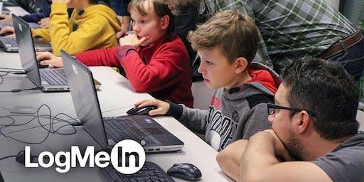 CoderDojo Budapest, @LogMeIn, CodeCombat, 2020 Február 24