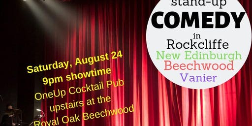 Comedy Night in New Edinburgh Rockcliffe Ottawa - August 24