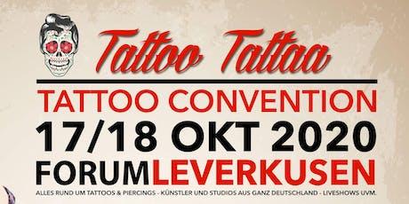 """Tattoo Convention Leverkusen """"TattooTattaa"""" Tickets"""