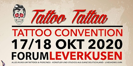 "Tattoo Convention Leverkusen ""TattooTattaa"" Tickets"