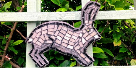 Hand Sculpted Garden Mosaic Art Shape Class (deposit booking)  tickets