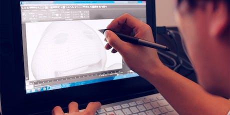 Schnupper-Workshop am Open Day: Überblick über Aufgaben & Tools eines Grafikdesigners Tickets