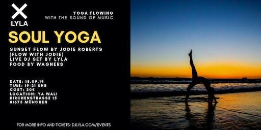 LYLA Soul Yoga Sunset Session with DJ, Food, Drinks at Ya Wali