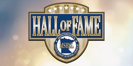2019 Minnesota State High School League Hall of Fame  Induction Ceremony tickets