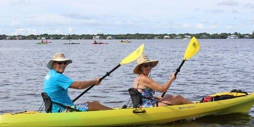 Florida Oceanographic Society's Ais on the Lagoon Community Paddle and Breakfast