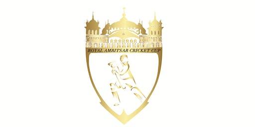 The Royal Amritsar Cricket Cup