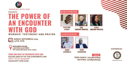 The Power of an Encounter with God