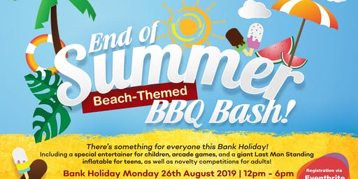 End of Summer Beach-Themed BBQ Bash!