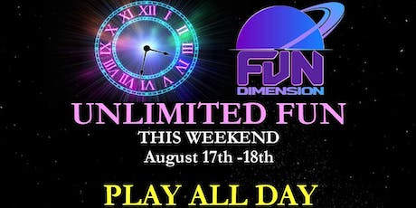 UNLIMITED FUN AT FUNDIMENSION tickets
