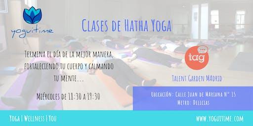 Yoga en las tardes - Delicias - Clase de Prueba