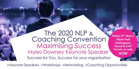 The 2020 NLP & Coaching Convention tickets