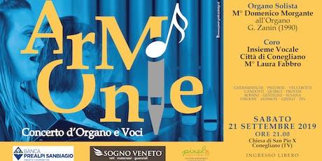 Armonie - Concerto d'Organo e Coro biglietti