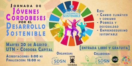 Jornada de Jóvenes Cordobeses por el Desarrollo Sostenible  entradas