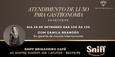 Atendimento de Luxo para Gastronomia