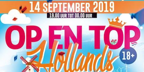 Op en Top Hollands tickets