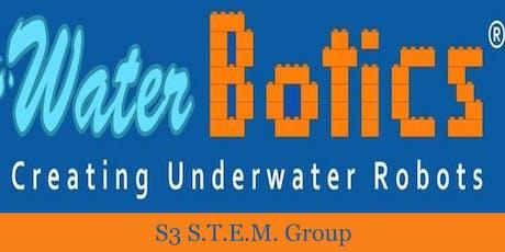 WaterBotics® S.T.E.M. Programs -Shelton Community Ctr. (Wednesdays 6pm-8pm) tickets