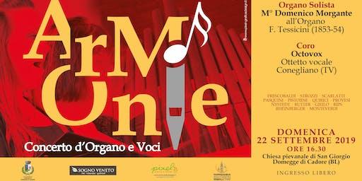 Armonie - Concerto d'Organo e Voci