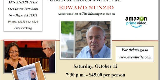 An Evening with Edward Nunzio, Gifted Spiritual Medium and Psychic
