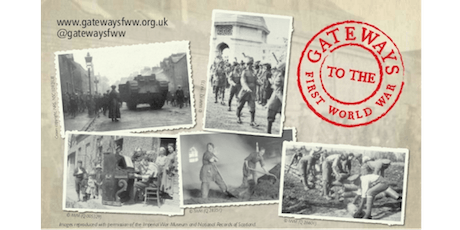 Gateways to the First World War: End of project event tickets