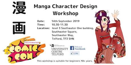 Manga Character Design Workshop tickets