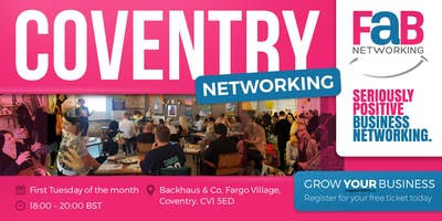 FaB Networking with FindaBiz Coventry