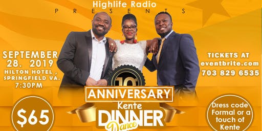 Highlife Kente Dinner Dance 2019