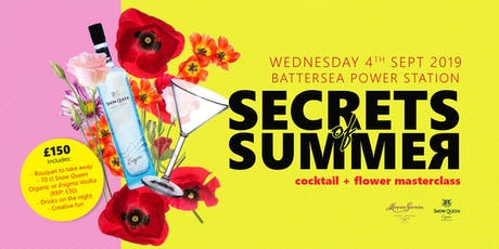 Secrets of Summer - Cocktails & Flowers Masterclass tickets