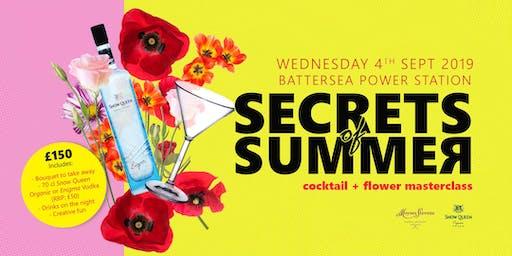 Secrets of Summer - Cocktails & Flowers Masterclass