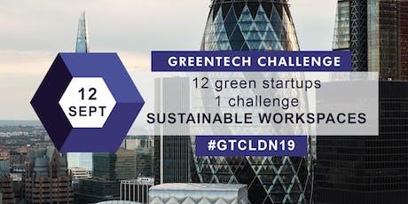 GREENTECH CHALLENGE Investor Day London 2019 tickets
